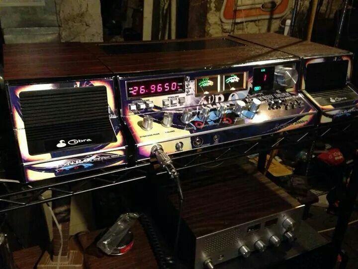 Music On The CB Radio | The Breakers Yard