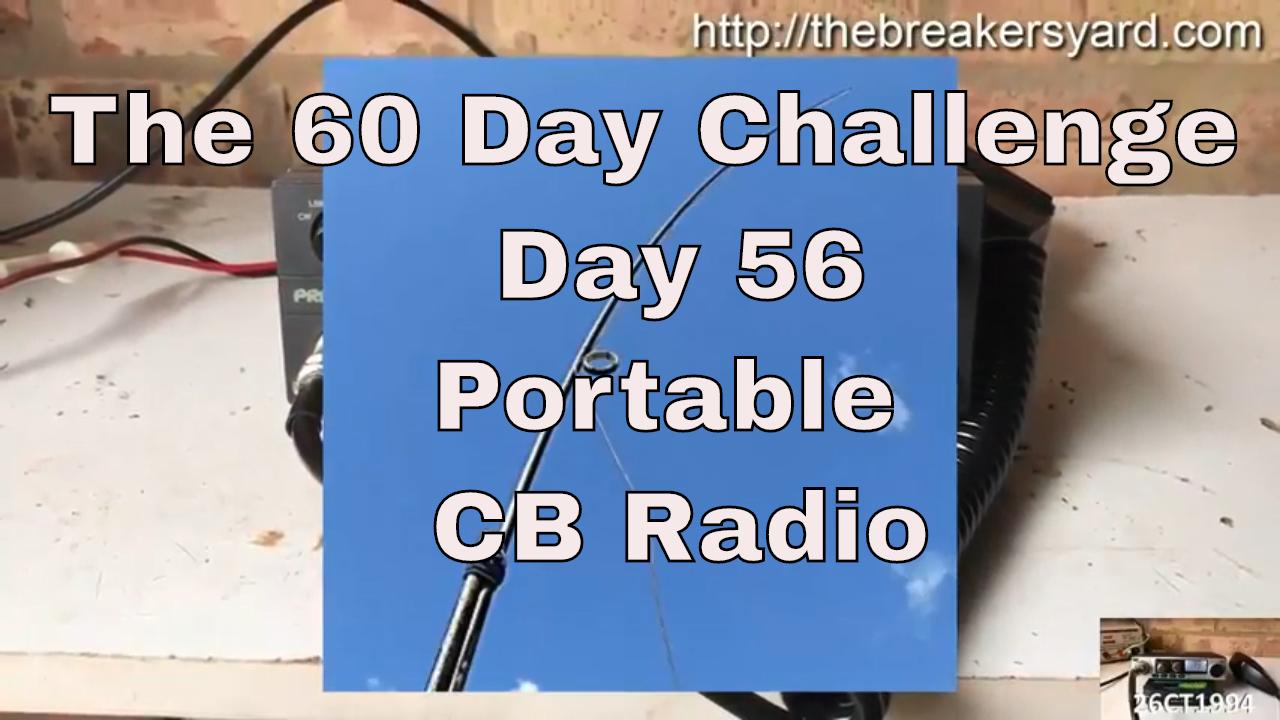 Portable CB Radio | The Breakers Yard